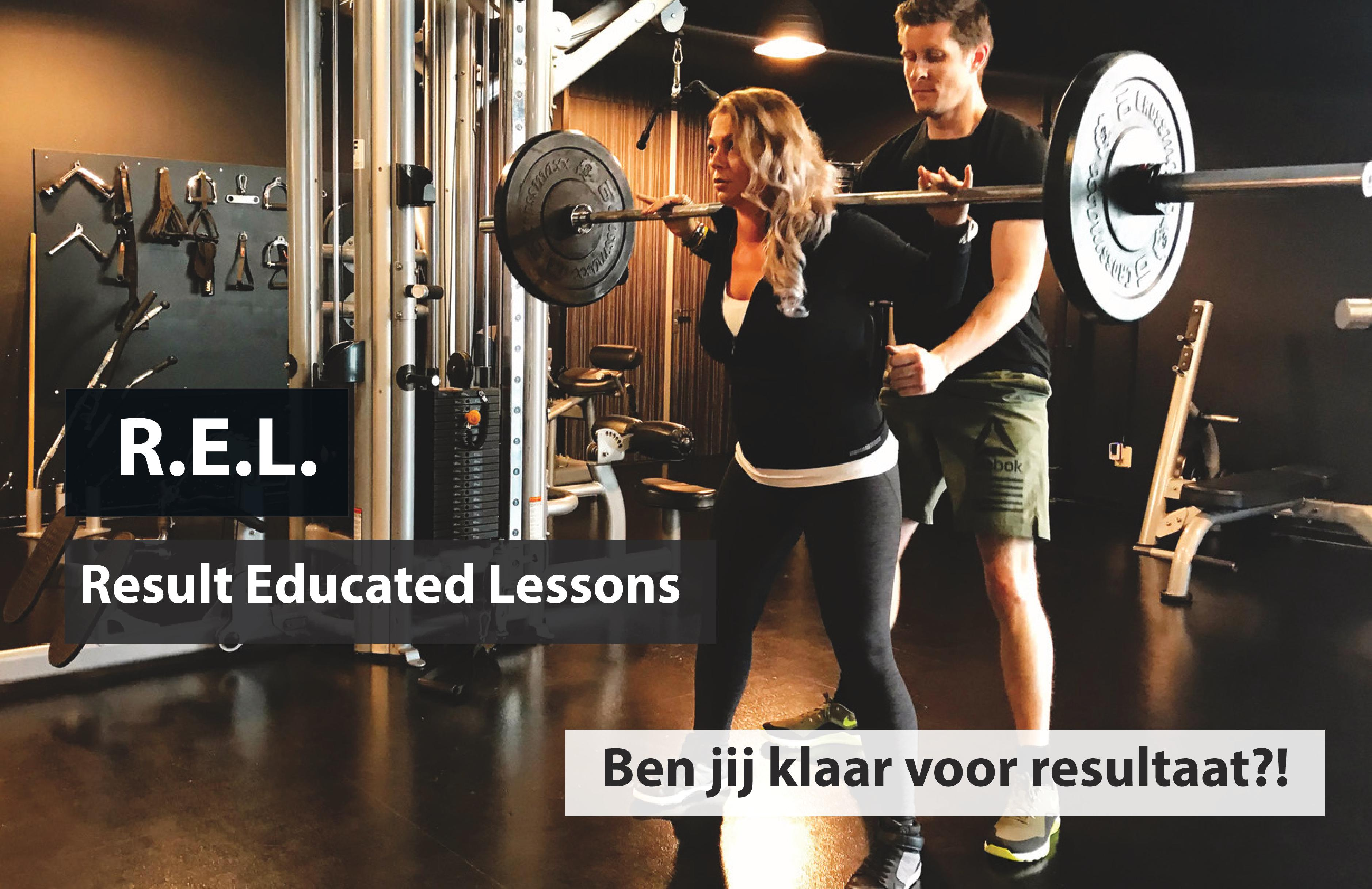 Result Educated Lessons (R.E.L.) bij Van Hellemond Sport